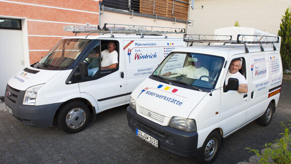 Maler-Fahrzeuge Wintrich